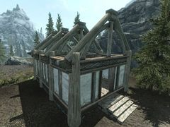 Skyrim Construction The Unofficial Elder Scrolls Pages Uesp Building Your House In Skyrim In 2020 Build Your House Small House Layout Rooftop Patio