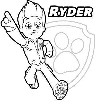 Paw Patrol Ryder 1 Paw Patrol Coloring Paw Patrol Coloring Pages Ryder Paw Patrol