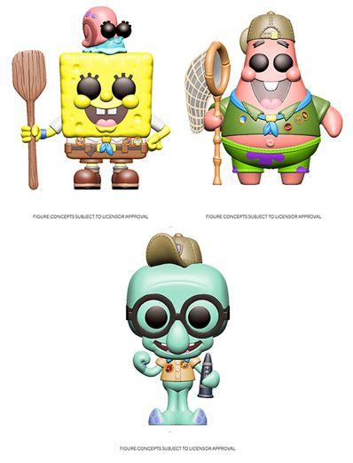[PRE-ORDER] Funko POP! Spongebob Squarepants (Uniform) - Set of 3