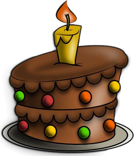 Gâteau D Anniversaire Au Chocolat Dessin Anniversaire