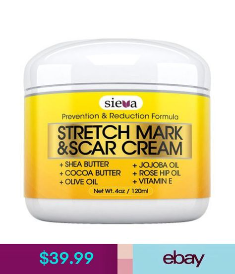 Sieva Skincare Stretch Mark Scar Treatments Jewelry Watches
