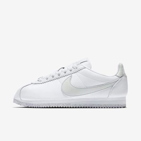 new product f9a56 11967 Nike Classic Cortez Flyleather with at least 50% leather fiber Women s Shoe