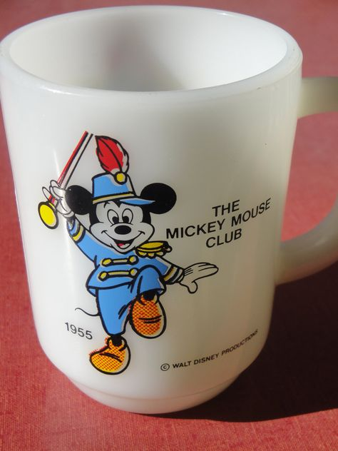 1955 Mickey Mouse Club cup - cool!