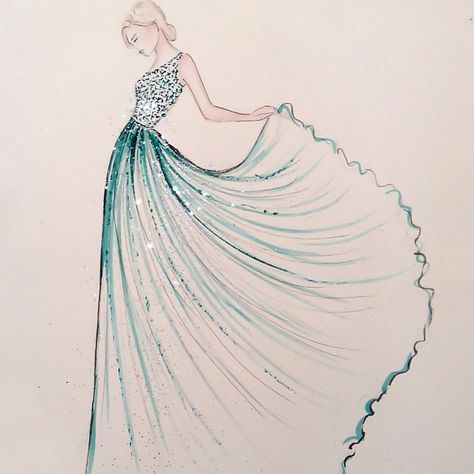 Dress Design Ideas Drawing