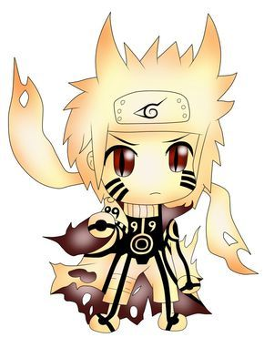 Chibi Naruto Characters Naruto Bijuu Mode Chibi By Paritsentiment Chibi Chibi Naruto Characters Anime