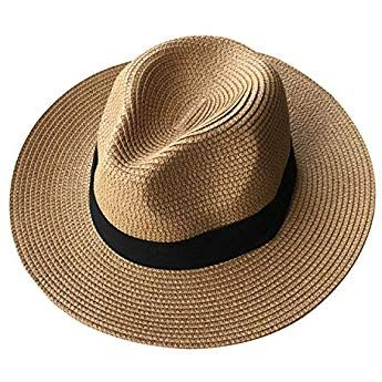 Lanzom Panama Roll Up Hat
