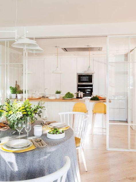 Muebles que delimitan | Cosas de Casa | Cocinas abiertas ...