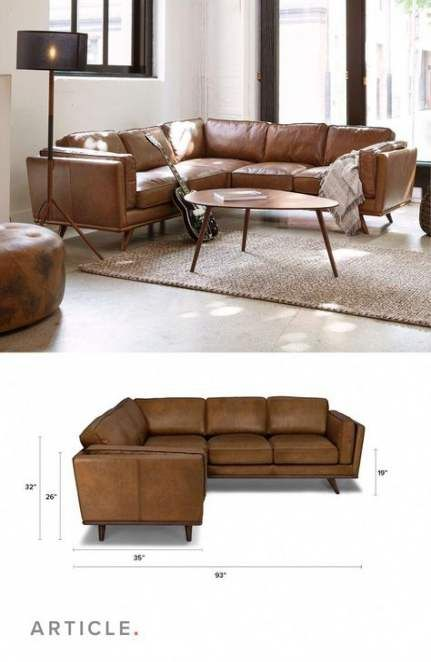 Living Room Brown Sectional Small Spaces 27 New Ideas Livingroom