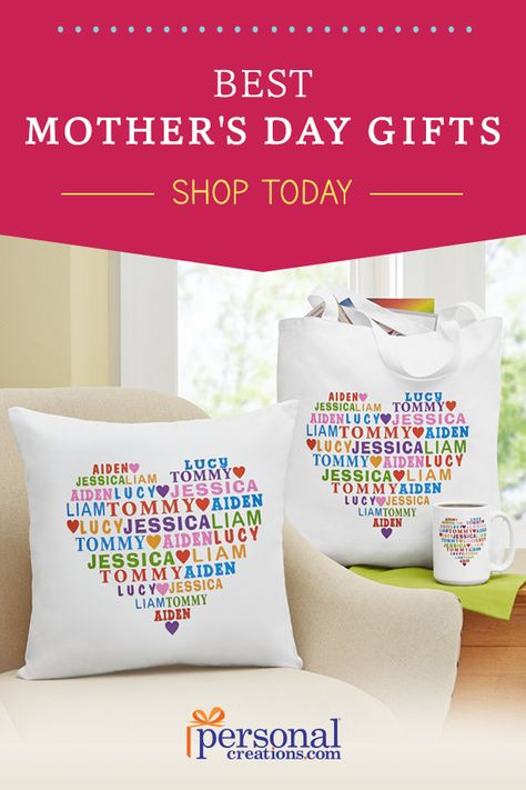 Bring joy to her Mother's Day with a gift you personalized just for her. Mom will love anything you get her, but these are the gifts that she truly deserves. Get 15% off your order today.