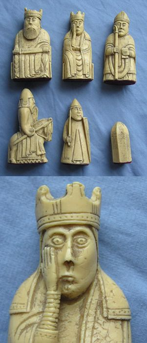 Some of the Lewis Chessmen may not have been chessmen at all according to new research.    The 12th and 13th century gaming pieces which were discovered in Uig on the Isle of Lewis in 1831 are considered to be Scotland's most renowned archaeological find.    An article in the journal Medieval Archaeology by David Caldwell, Mark Hall and Caroline Wilkinson suggests that many of the 93 ivory pieces may have been used in a game called hnefatafl – an ancient Viking board game that pre-dates chess.