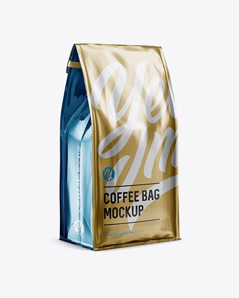 Download Metallic Coffee Bag W A Tin Tie Mockup Halfside View In Pouch Mockups On Yellow Images Object Mockups Mockup Free Psd Mockup Free Psd Mockups Templates