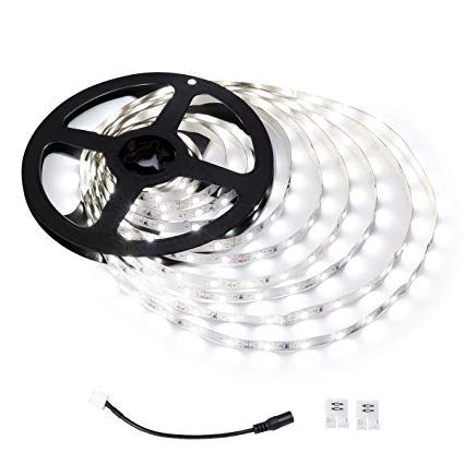 Le 12v Led Strip Light Flexible Smd 2835 16 4ft Tape Light For Home Kitchen Party Under Cabinet An Led Strip Lighting 12v Led Strip Lights Strip Lighting