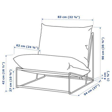havsten chair in outdoor beige ikea