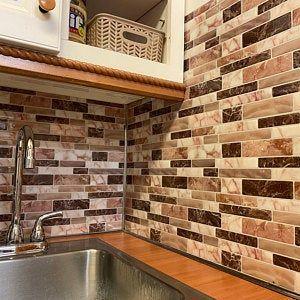 12x12 Peel And Stick Backsplash Tile For Kitchen Etsy In 2021 Peel N Stick Backsplash Kitchen Tiles Tile Backsplash