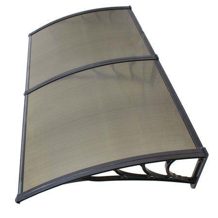 Zeny 40 80 Overhead Door Window Outdoor Awning Door Canopy Patio Cover Modern Polycarbonate Rain Snow Protection Walmart Com Outdoor Window Awnings Window Awnings Outdoor Awnings