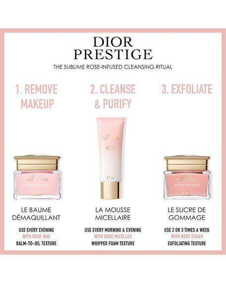 Dior Dior Prestige La Mousse Micellaire 4 Oz The Balm Cleansing Balm The Prestige