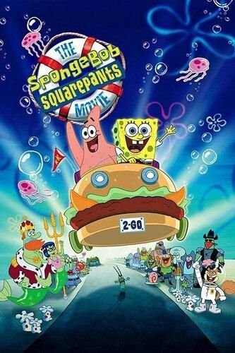520 Pieces Sponge Bob Square Pants Jigsaw Puzzle - Sponge bob