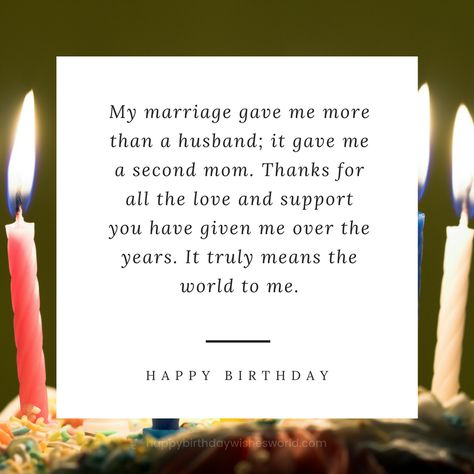 List Of Pinterest Mother In Law Quotes Love Happy Birthday Pictures