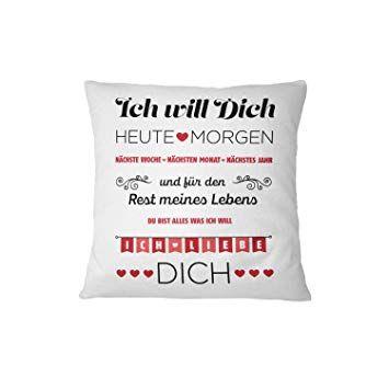 Schoenes Freund Kissen 12 Pillow Liebes Geschenke Geschenke
