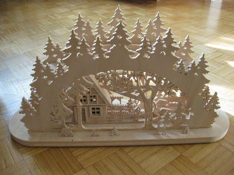 Weihnachtlicher Schwibbogen Bauanleitung 0