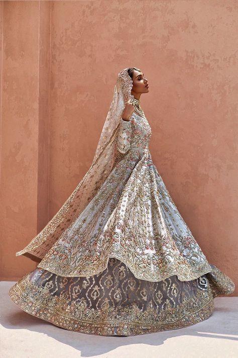 Asian Bridal Dresses, Desi Wedding Dresses, Asian Wedding Dress, Indian Bridal Outfits, Pakistani Outfits, Mehendi Outfits, Pakistani Bridal, Bridal Lehenga, Indian Aesthetic