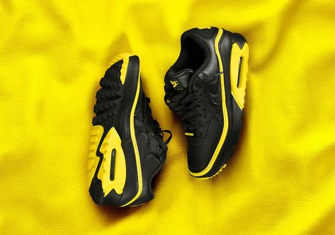 UNDEFEATED Nike Air Max 90 Opti Yellow CJ7197 001 Release