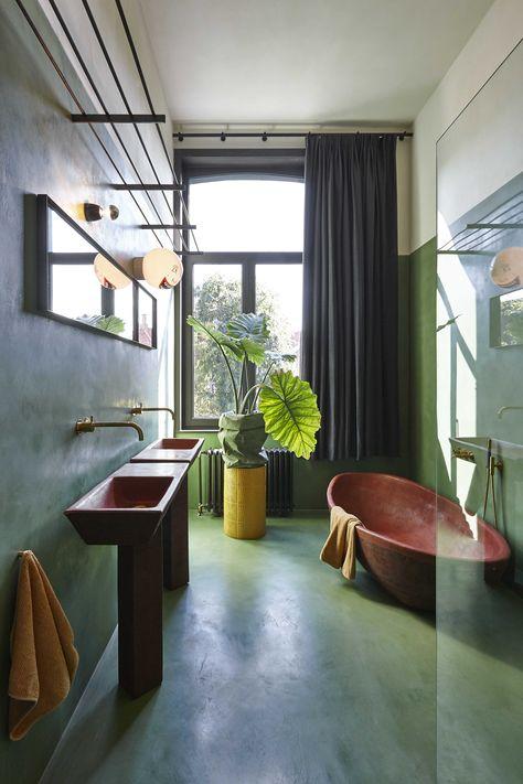List of Pinterest carrelage salle de bain couleur rouille ...