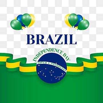 Brazil Independence Day Illustration Beautiful Brazilian Flag On Transparent Background Brazil Independence Day Png And Vector With Transparent Background Fo Purple Flower Background Independence Day Independence Day Background