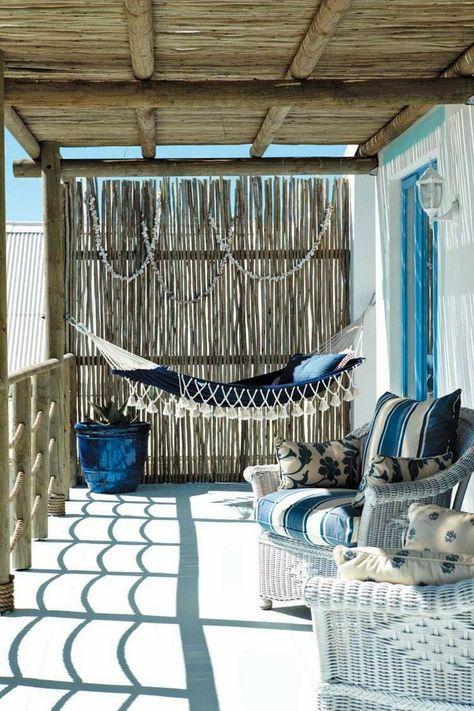 Hamacas Con Cordages Toiles 1 Porches Terrazas