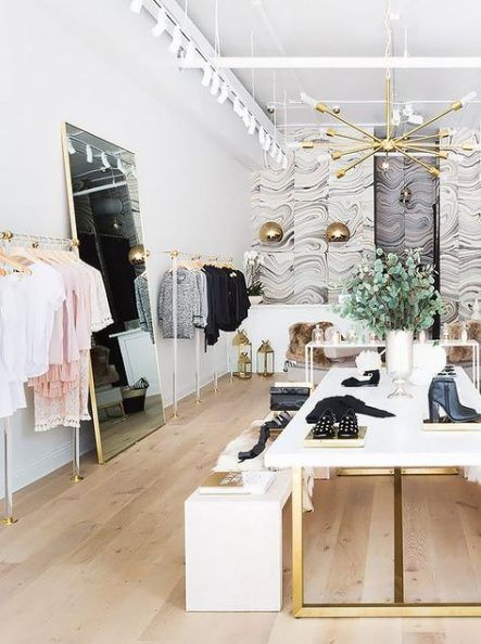 23 Ideas For Clothes Shop Display Ideas Small Spaces Clothing Boutique Interior Clothing Store Interior Store Design Interior