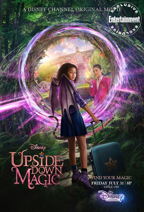 Get a first look at 'Upside-Down Magic,' the Disney Channel Original Movie-version of 'Harry Potter'