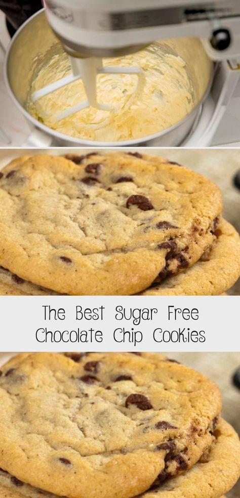 The Best Sugar Free Chocolate Chip Cookies #sugarfree #cookie #recipe #homemade #diy #dessert #lowcarb #PreDiabeticRecipes #KetoDiabeticRecipes #DiabeticRecipesFood #DiabeticRecipesGroundTurkey #MexicanDiabeticRecipes