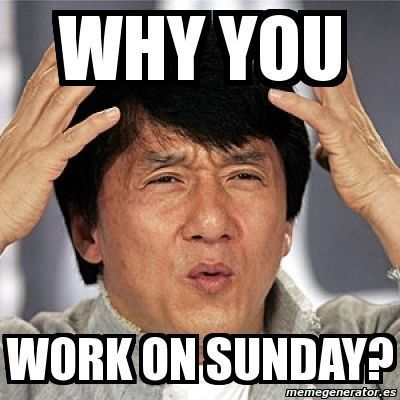 80 Best Sunday Memes Pics And Images For Funny Fundays Jackie Chan Kid Friendly Memes Funny Picture Quotes