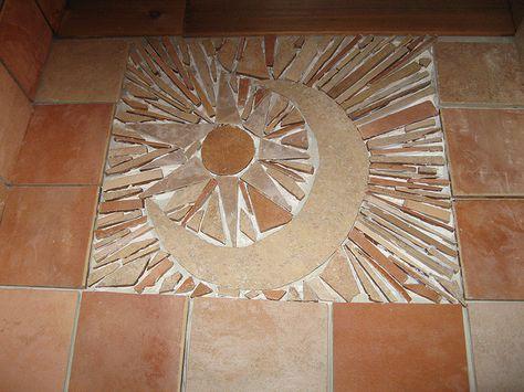 Installing a Tile Shard Floor