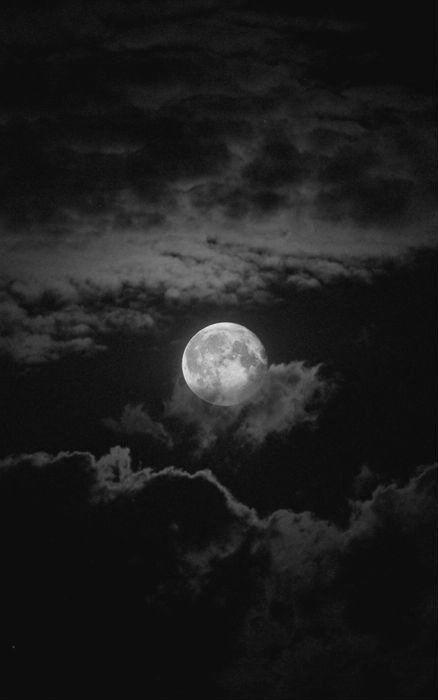 Lua Moon Silver Moon Wallpaper Dark Moon Sky Aesthetic