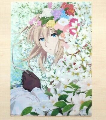 Beautiful Clear file Anime Japan Limited Movie Novelty Violet Evergarden