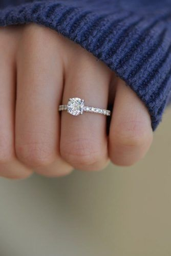 45 Utterly Gorgeous Engagement Ring Ideas With Images Round