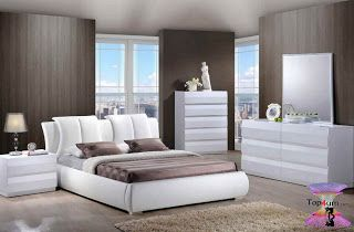 احدث كتالوج صور غرف نوم 2021 Bedroom Designs Bedroom Bed Design Bedroom Furniture Design Bed Design Modern