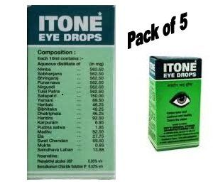 Itone 5 X Ayurvedic Herbal Eye Drops Natural Allergies 10ml By Find Out More About The Great Product At Image Link