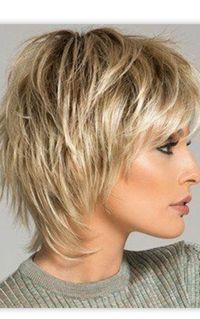 Image Result For Short Shag Hairstyles For Women Over 50 B Short