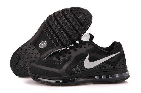 Nike Air Max 2014 Men Shoes White Black 621077 101 TopDeals
