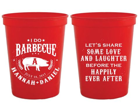 50 Flex Cups Personalized Custom Love Laughter Happily Ever After Wedding Party BBQ Engagement ALL SIZES Shatterproof Frosted Frost