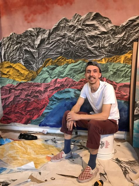 How the Kosovo-Born Artist Pajtim Osmanaj Parlayed His