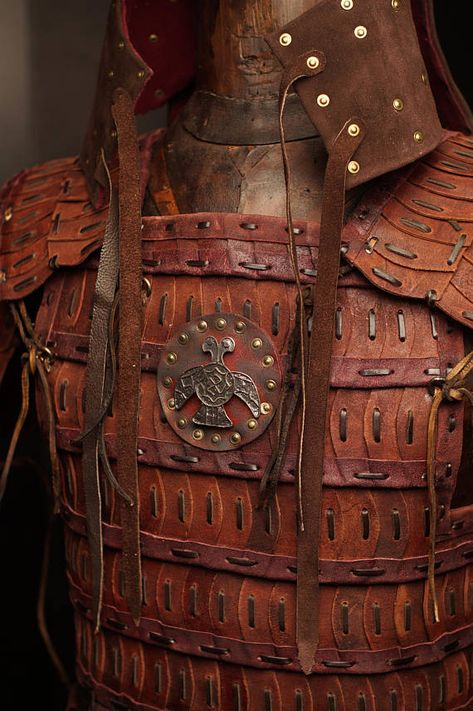 Medieval Mongol Leather FULL Armor Kit Armor Costume tatar