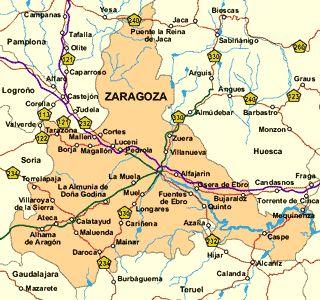 Mapa Provincia De Zaragoza.Imagen De Calatayud Mapa 50300 1 En 2019 Zaragoza Aragon
