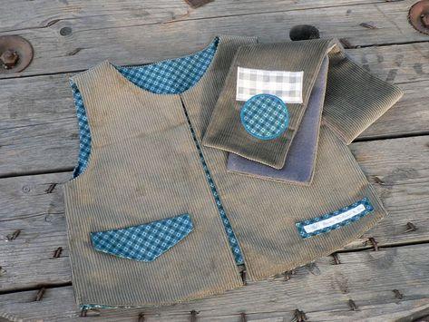 Tuto de l écharpe croisée en tissu, version homme, femme ou enfant © - Dame  Valiste   Cie 501607d0d0e