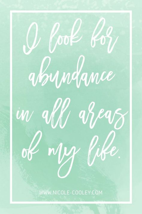 I look for abundance in all areas of my life - Money Affirmations | Budgeting for Beginners | Money Saving Tips | How to Save Money #money #budgeting #finances
