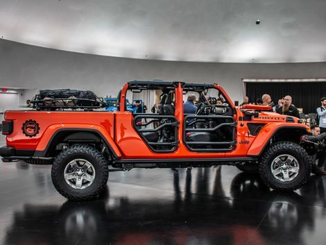 Jeep Gladiator Gravity Is A Concept You Can Build Now Jeep