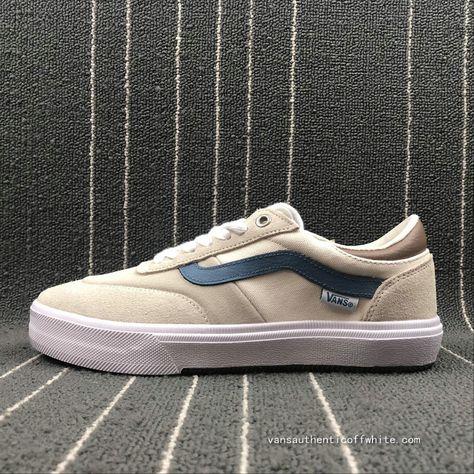 Vans Gilbert Crockett Pro 2 Beige White VN0A38COQNV Skate Shoe For Sale 8ac2490b79