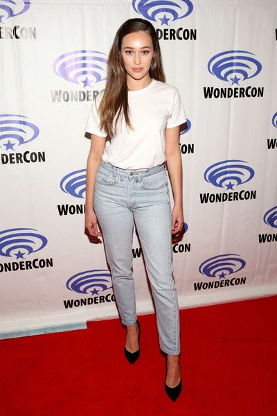 Actor Alycia Debnam Carey of AMC's 'Fear of the Walking Dead' attends WonderCon at Anaheim Convention Center.